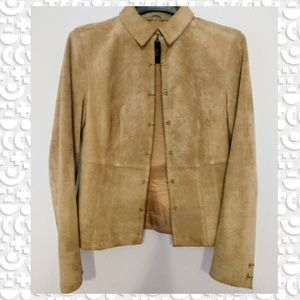 Vintage Suede Leather jacket by 111 State